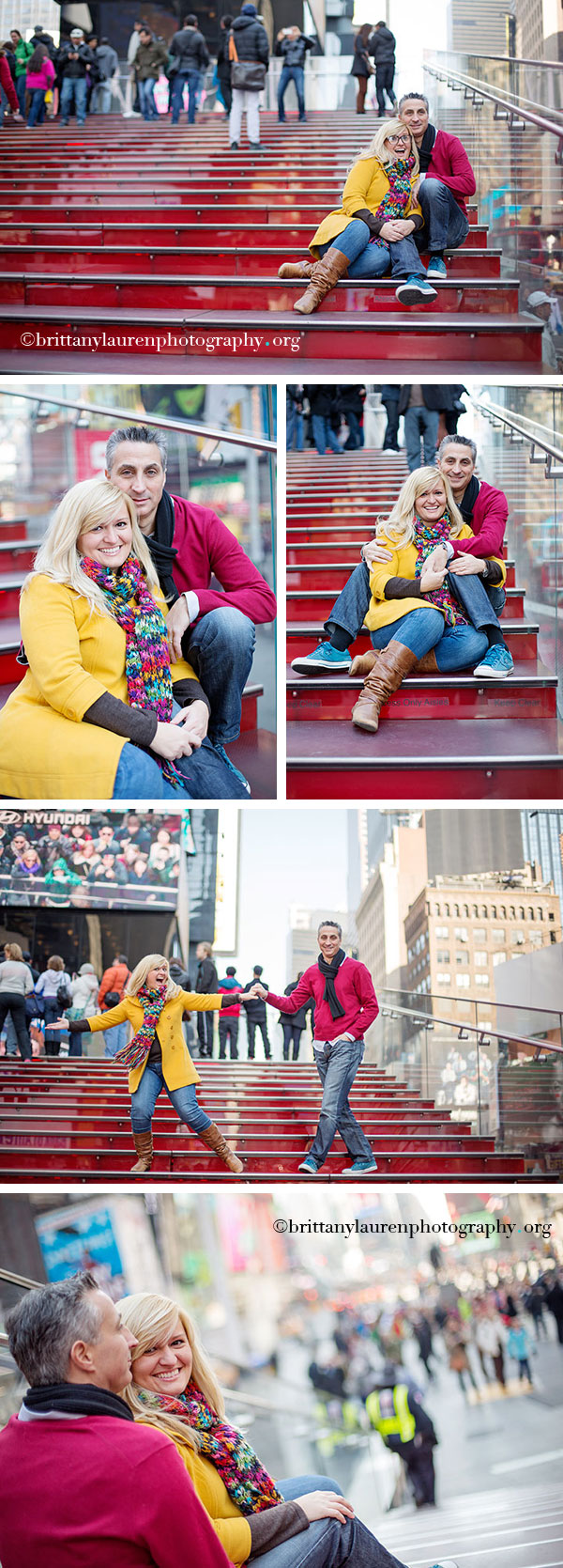 Times Square NYC photo shoot