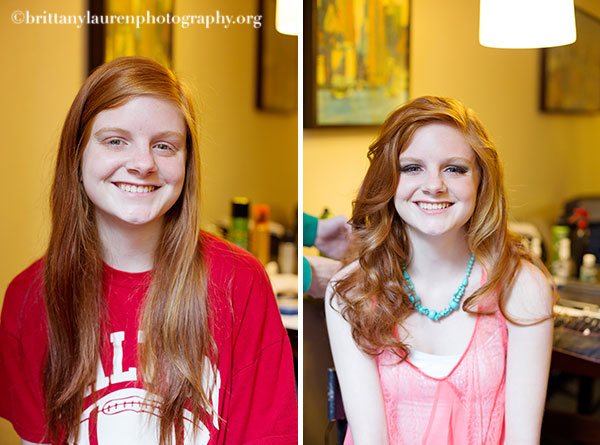 Before and After Senior Session