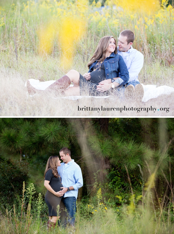 Charlotte pregnancy outdoor pictures