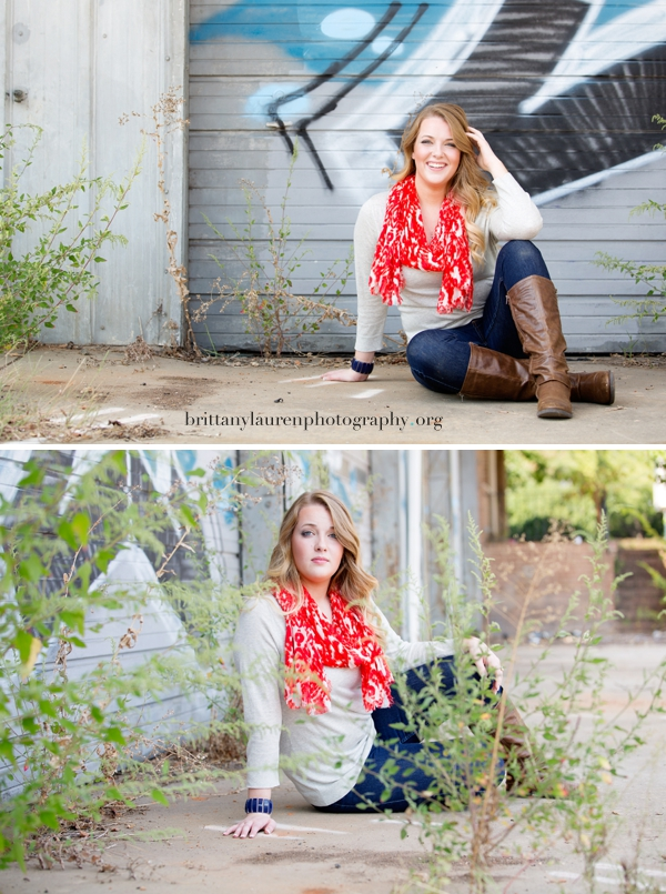 Charlotte high school senior photos