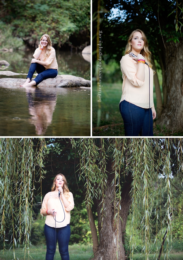 Outdoor Charlotte Senior pictures
