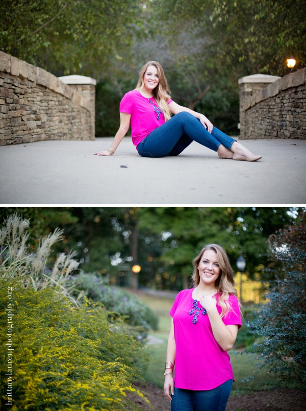 Charlotte Senior photography studio