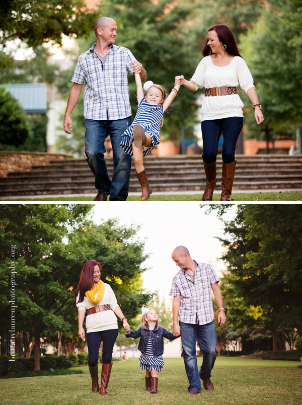 Fun outdoor Charlotte Family photos