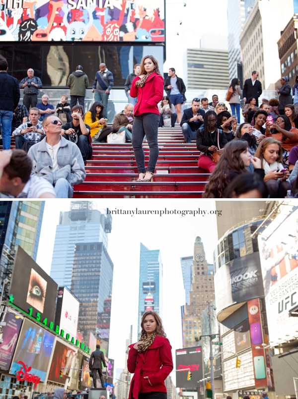 Senior pictures in NYC