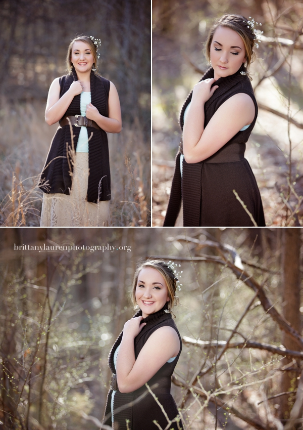Charlotte Senior photo studio
