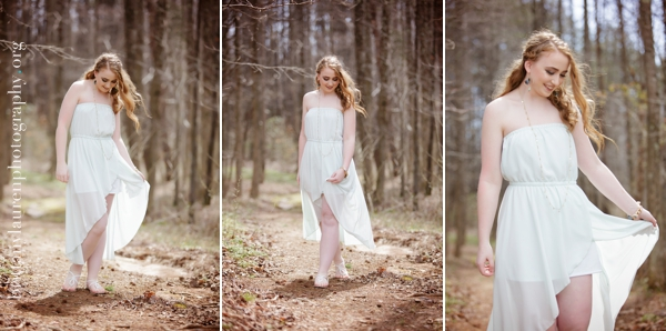 Whimsical Senior pictures near Charlotte, NC