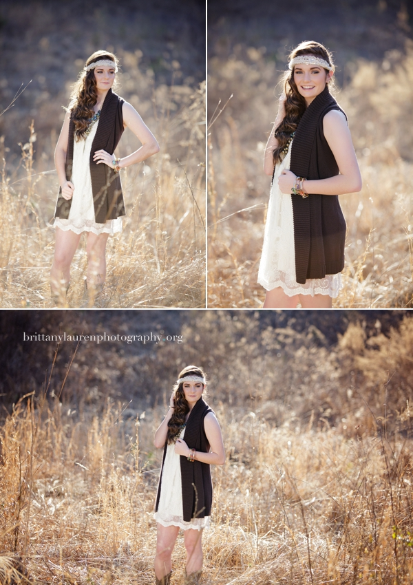 Gorgeous outdoor Charlotte Senior photography