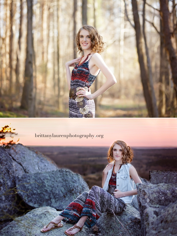 Sunset High School Senior session