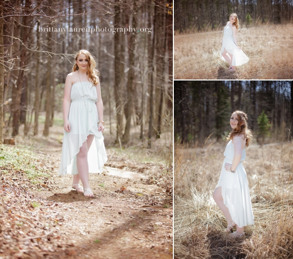 Natural outdoor Senior photos