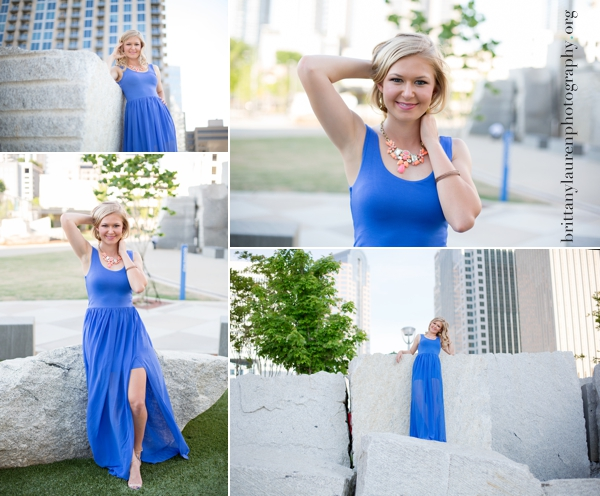 Romare Bearden Park Senior pictures