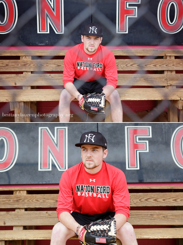baseball senior pictures