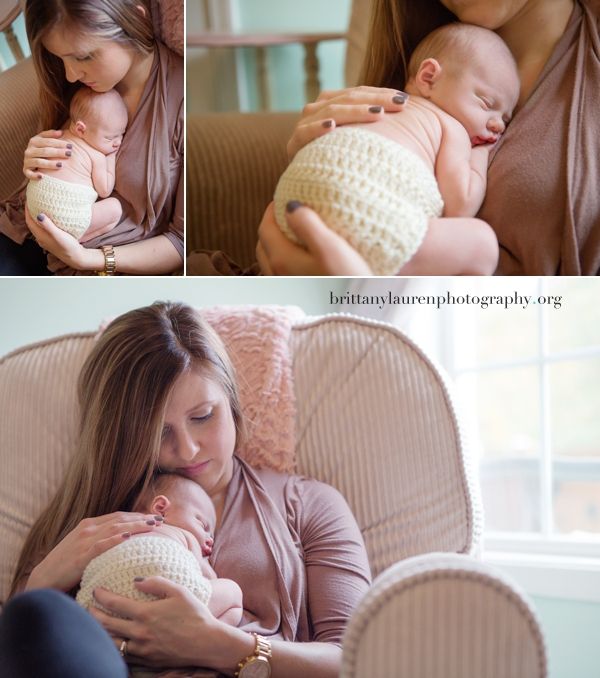 Mom and newborn baby pictures