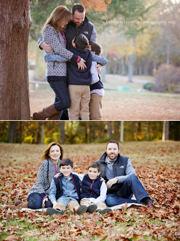 Colorful family photos