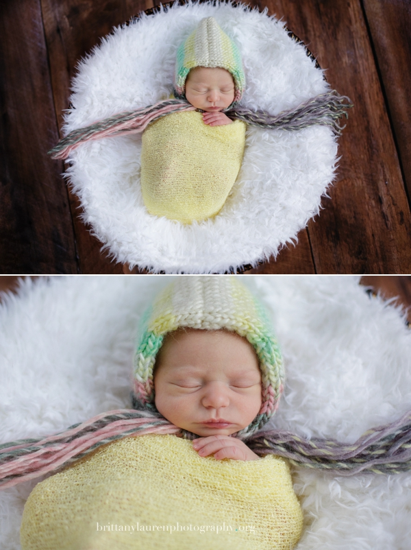 newborn studio photos