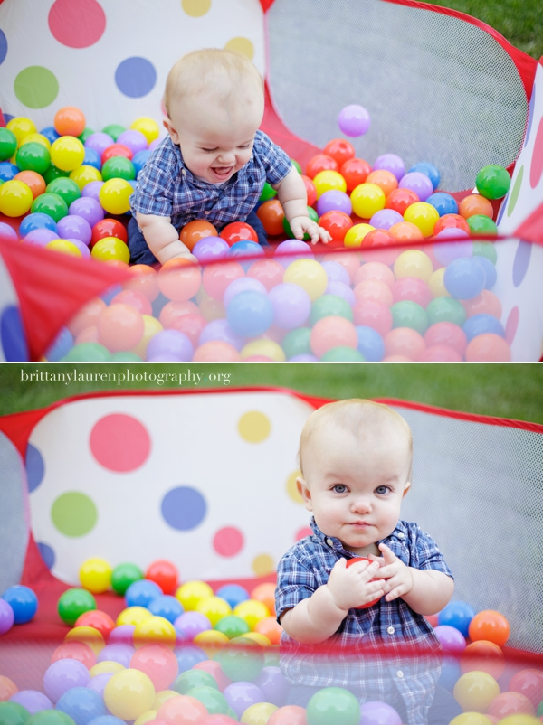 Colorful outdoor kid photos