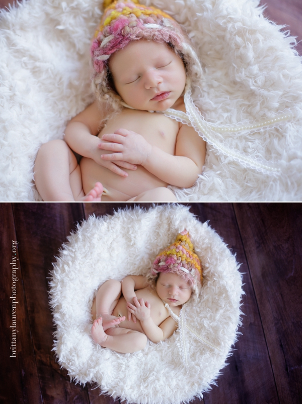 natural posed newborn pictures