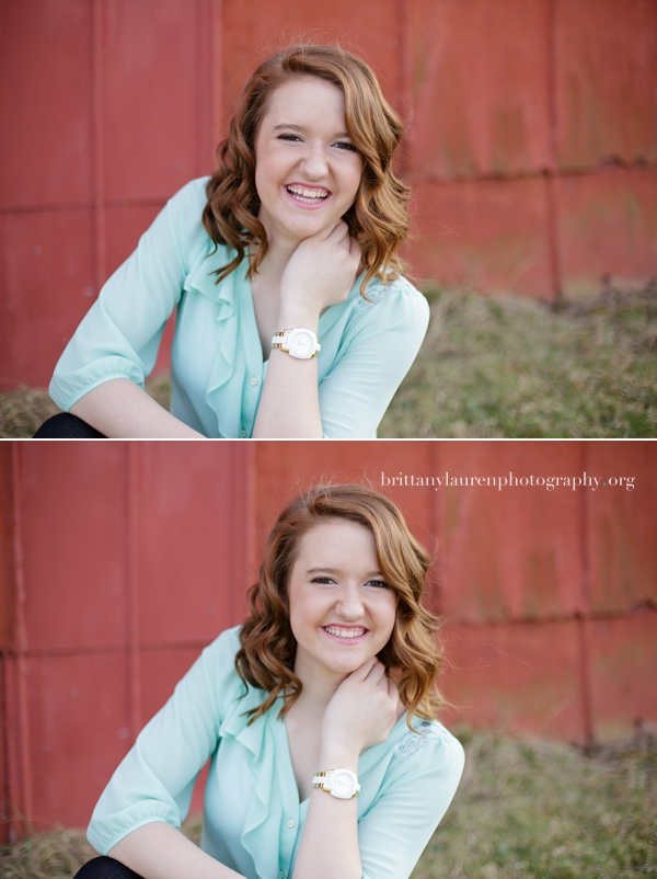Natural senior pictures