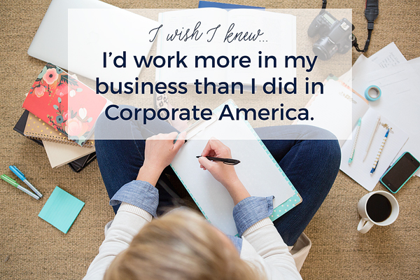 small business is a lot of work